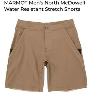NWT Marmot North McDowell Water Resistant Shorts